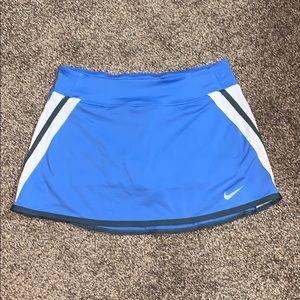 Nike Dri-Fit Blue Skirt.
